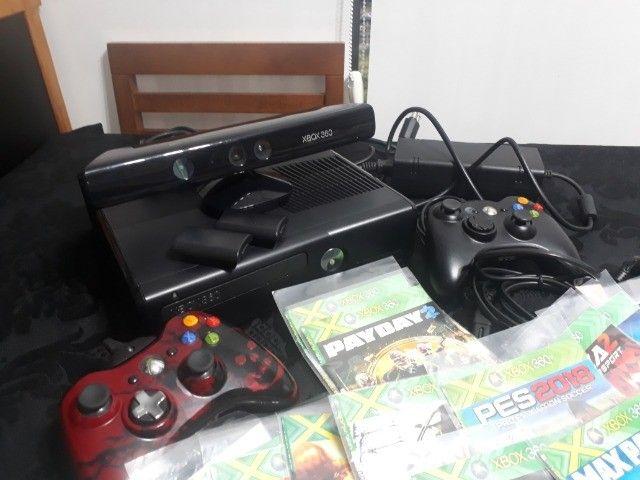 Microsoft Xbox 360 + Kinect Slim 4gb Standard