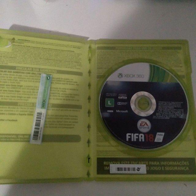 FIFA 18 XBOX 360 ORIGINAL - Foto 2
