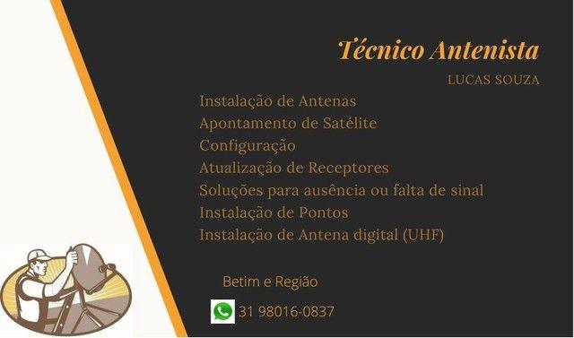 Técnico Antenista - Foto 2