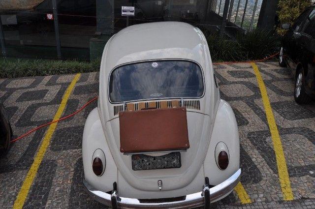 Volkswagen Fusca 79 1.300 Carro de colecionador, placa preta   Nunca foi restaurado. - Foto 7