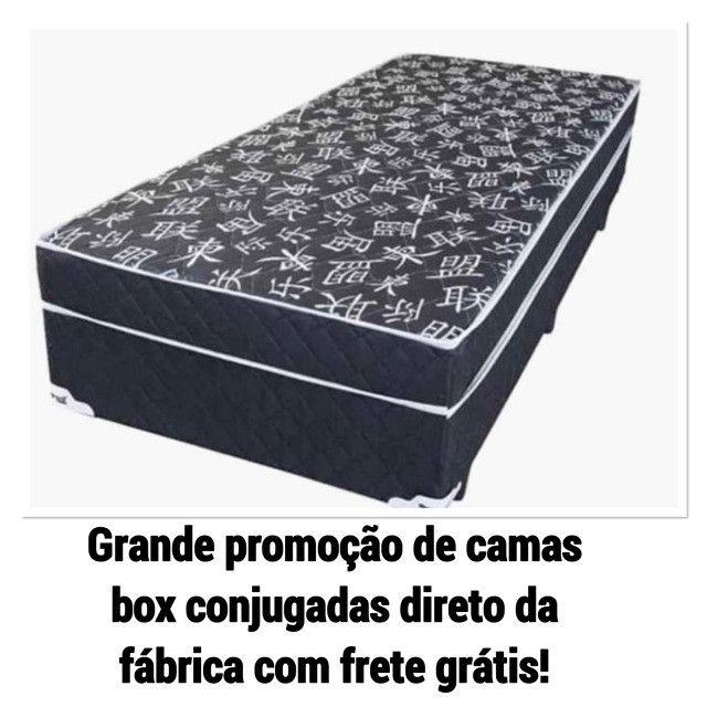 Promoção imperdível: camas box conjugadas direto da Fábrica