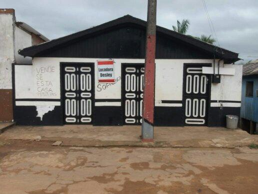 Vendo casa no amazonas município de Pauini 70 mil