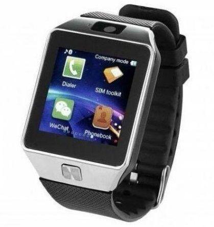 Relógio Inteligente Bluetooth Cartões Sim E Sd Independentes - Novo