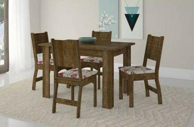 Oferta Especial Mesa Primus 4 ou 6 cadeiras