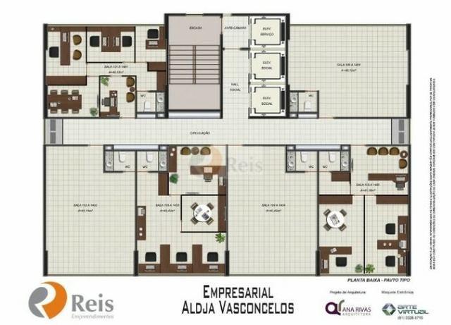 Sala comercial, 41 m², em Boa Viagem, 290 mil - Foto 9