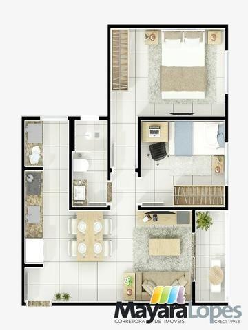 Apartamento Residencial Vilas do Mar Paula São Francisco do Sul 2 quartos - Foto 12