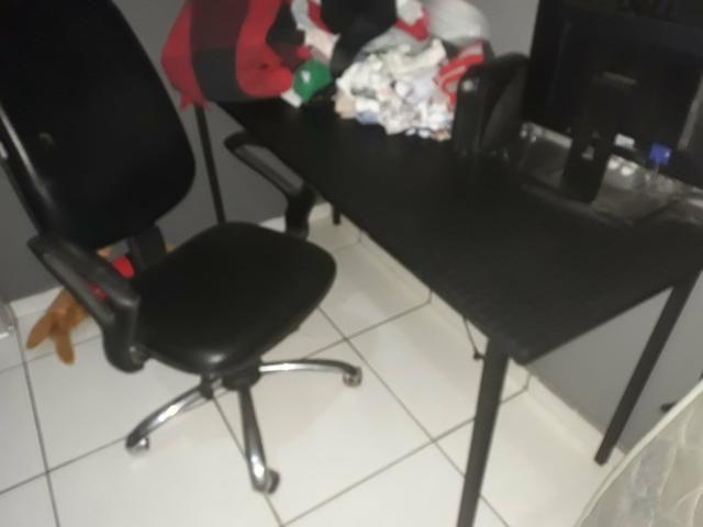 Cadeira de rodas c/ mesa - Foto 2