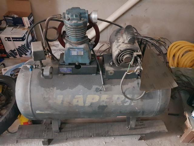 Vendo torno pra roda é compressor troco carro ou moto - Foto 3