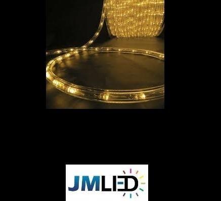 Rolo de 100m Mangueira Roliça de LED para Natal R$ 410,00 em 3X - Foto 5