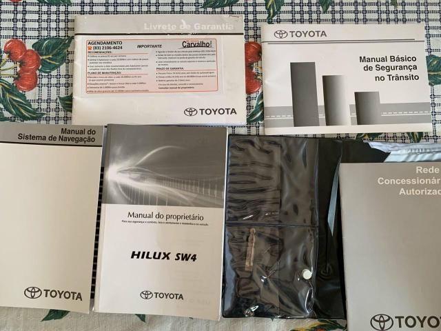 Toyota Hilux SW4 Muito Nova 7 lugares 2013 - Foto 17
