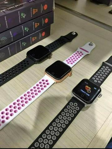 Smartwatch Pro Life À Prova D'água compatível Android e Iphone - Foto 6