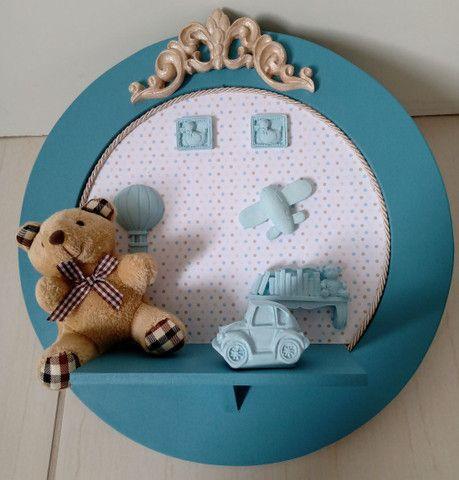 Placa decorativa bebê
