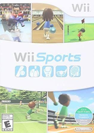 Wii Sports Nitendo Wii Original