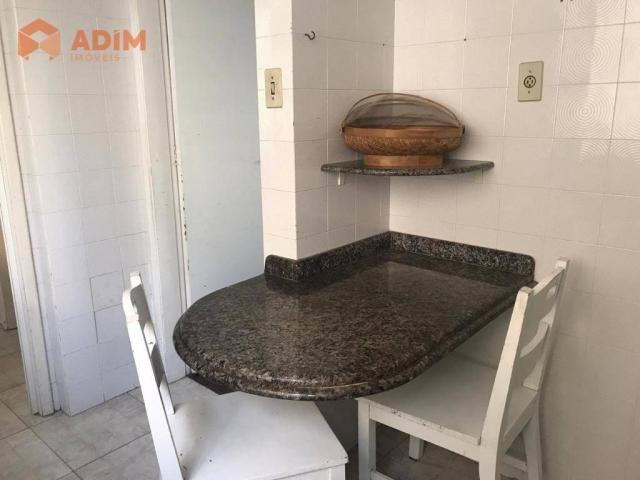 Apartamento com 3 dormitórios para alugar, 150 m² por R$ 2.500,00/mês - Pioneiros - Balneá - Foto 16