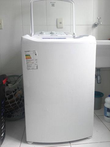 Máquina de lavar roupas Eletrolux 10,5kg Semi Nova 110V. Modelo LAC11 - Foto 6