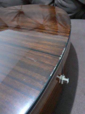 Violão Walden modelo CS 550 CE tampo maciço - Foto 4