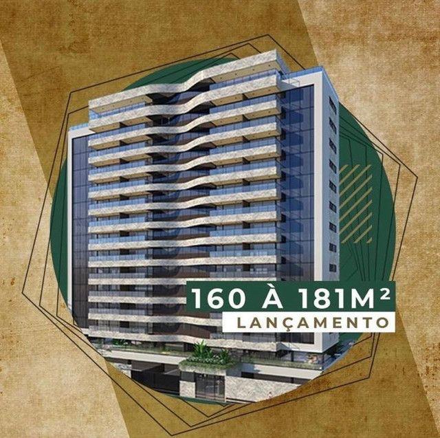 Edf. Caravaggio; Apto. 160m² a 181m²; 4Suítes; 3 ou 4Vagas; 100 Meses para Pagar