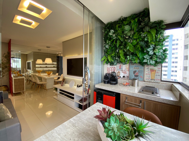 Belíssimo apartamento todo reformado 3 quartos sendo 1 suíte Nova Suíça Ed. Navegantes - Foto 5