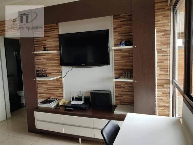 Flat com 1 dormitório à venda, 52 m² por R$ 420.000,00 - Edifício Létoile - Barueri/SP - Foto 2