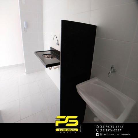 Apartamento com 2 dormitórios à venda, 60 m² por R$ 179.900 - Expedicionários - João Pesso - Foto 7