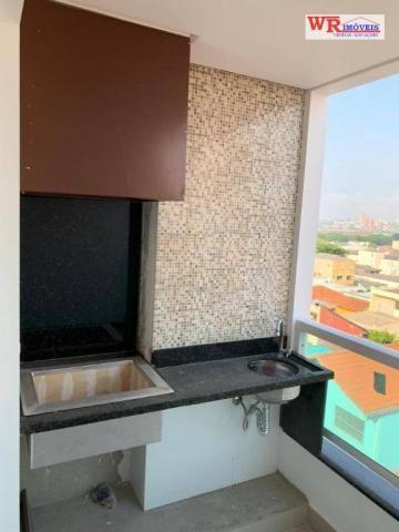 Apartamento com 2 dormitórios à venda, 66 m² por R$ 350.000,00 - Paulicéia - São Bernardo
