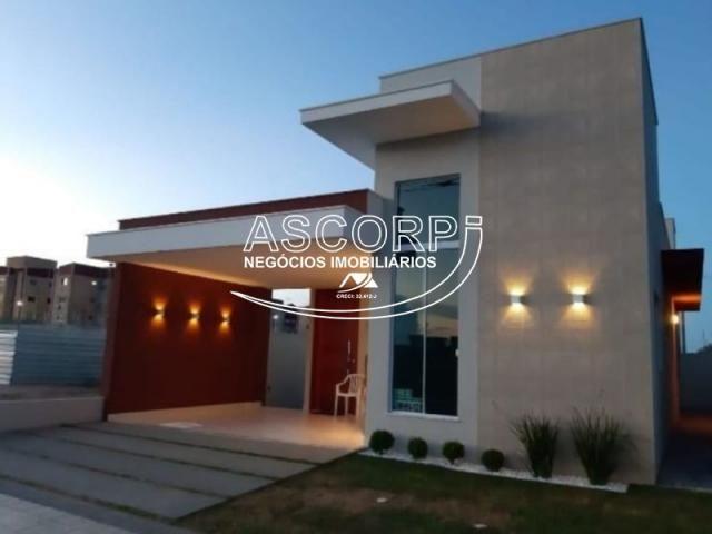 Realize o sonho de sua casa em condomínio fechado (Cod. CA00241) - Foto 3
