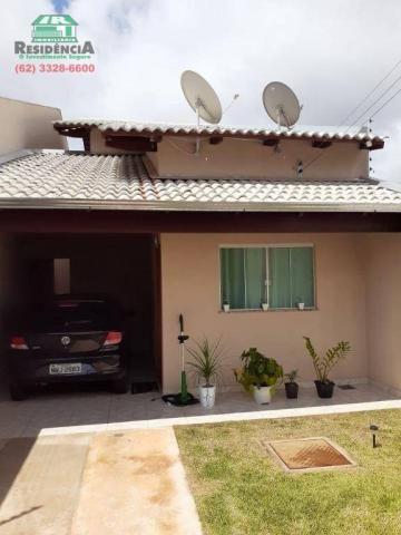 Casa com 3 dormitórios à venda, 96 m² por R$ 165.000 - Residencial Arco-Íris - Anápolis/GO