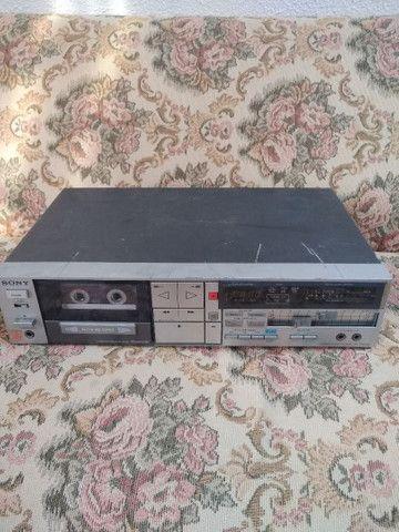 Tapedeck Sony TC-FX510R(leia a descrição)