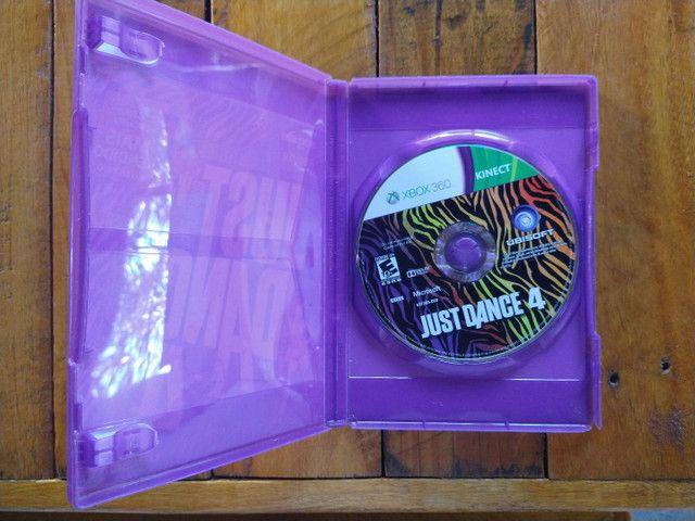 Just Dance 4 original - usado R$85 - Foto 3
