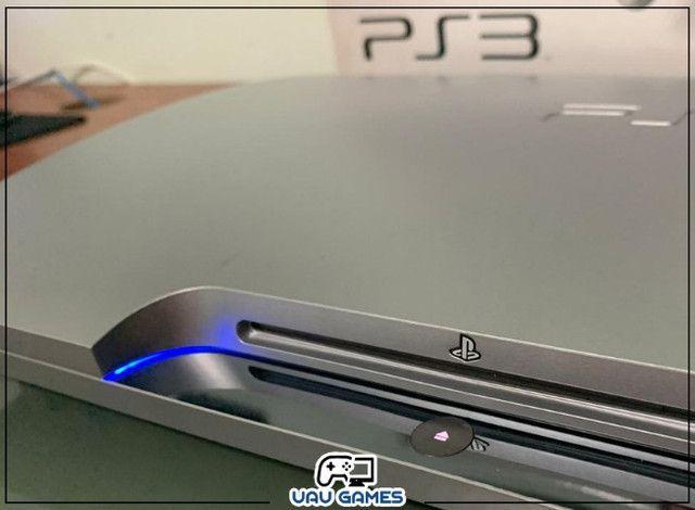 Playstation 3 Edição Cinza - Garantia - Destravado - Foto 4
