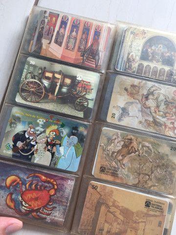 Vendo coleção de cartão telefônico - Foto 2
