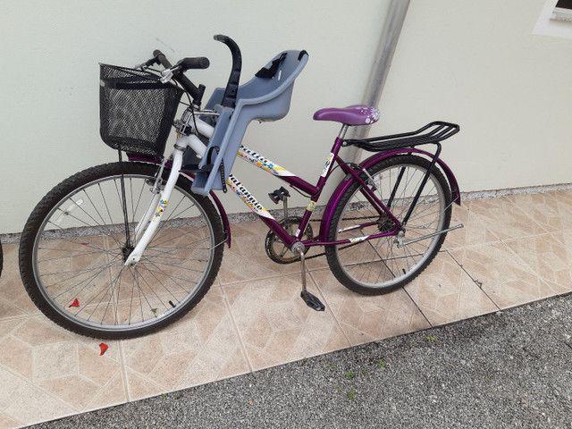 Bicicleta feminina aro24