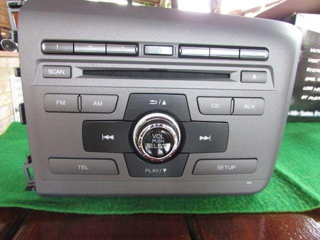 Som Original Honda Civic 2014 (Cd, Mp3, Bluetooth)