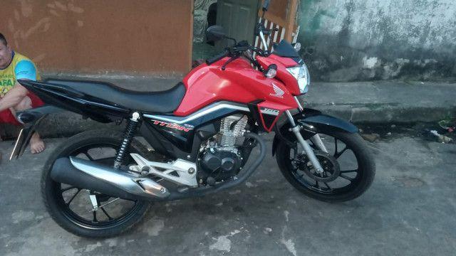 Vendo Titan Honda moto  - Foto 2