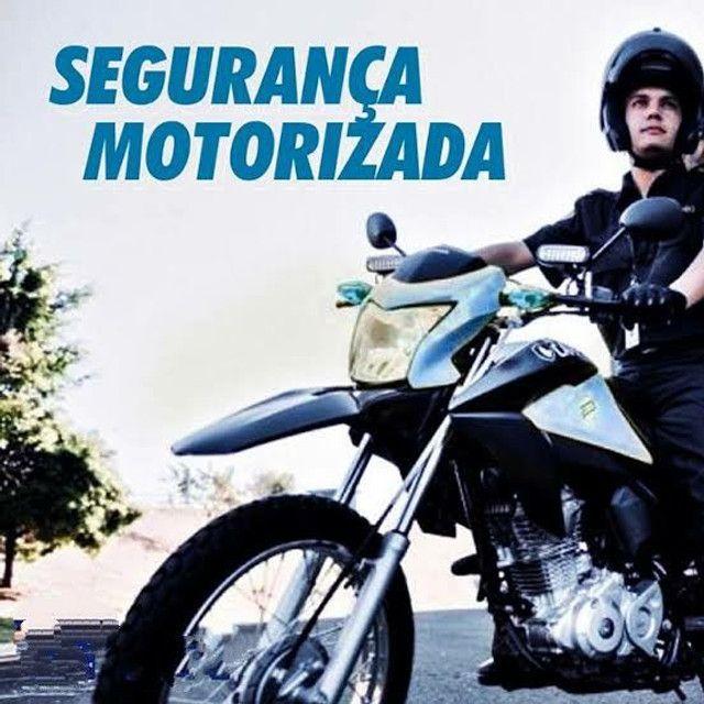 Vaga para segurança de moto