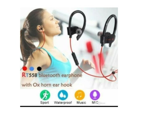 Fone Headset Bluetooth Esportes