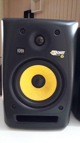 Monitor de referência KRK Rokit 6 2 geração - Foto 3