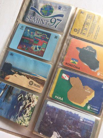 Vendo coleção de cartão telefônico - Foto 6