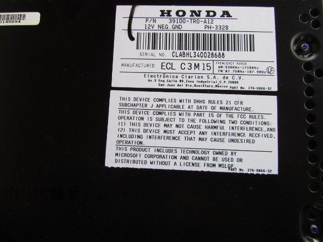 Som Original Honda Civic 2014 (Cd, Mp3, Bluetooth) - Foto 6