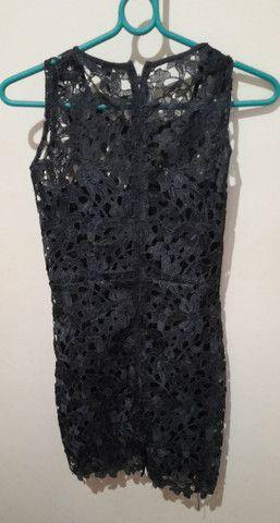 Vestido Just Be preto  - Foto 2