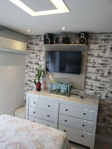 Apartamento com 2 dormitórios à venda, 70 m² por R$ 485.000,00 - Aparecida - Santos/SP - Foto 12
