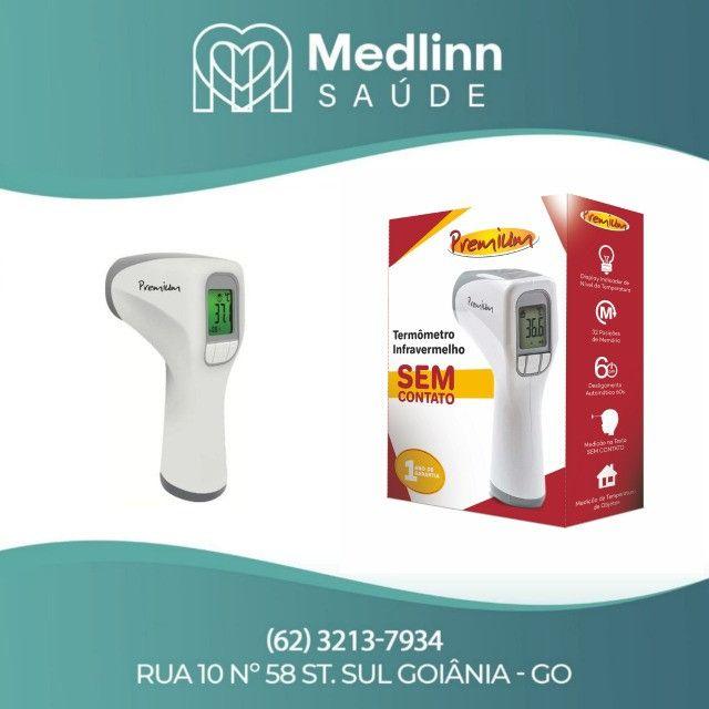 Termômetro infravermelho s/contato