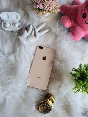 iPhone 8 Plus Gold rosê  - Foto 4