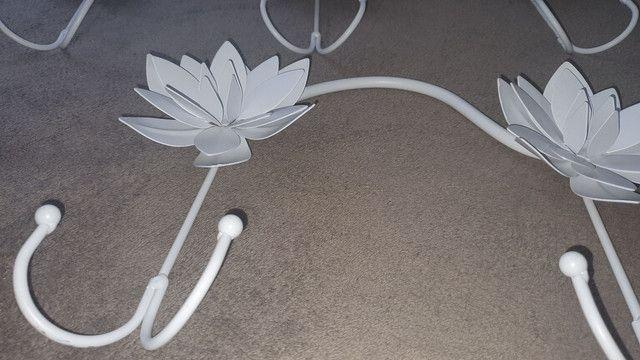 Chapeleiro flores metal - leia todo o anúncio - Foto 5