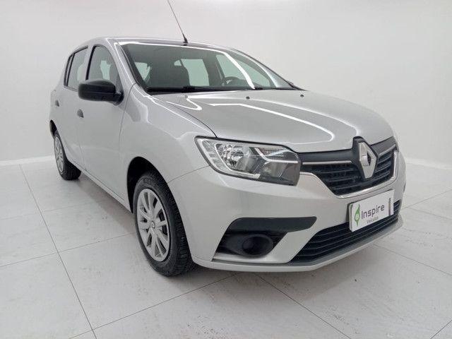 Renault Sandero 2020 Completo Flex