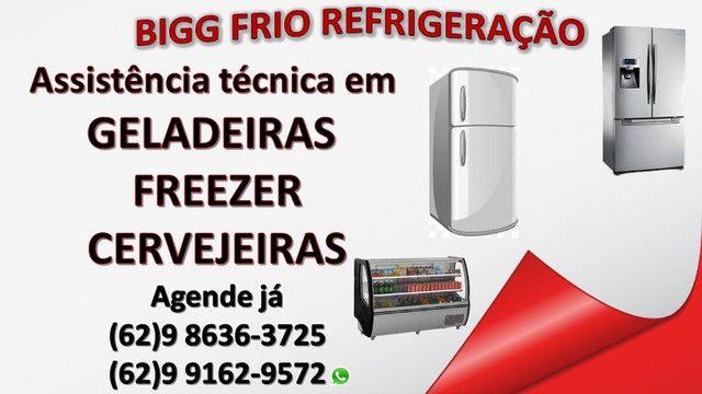 Conserto e manutenção em refrigeradores geladeira