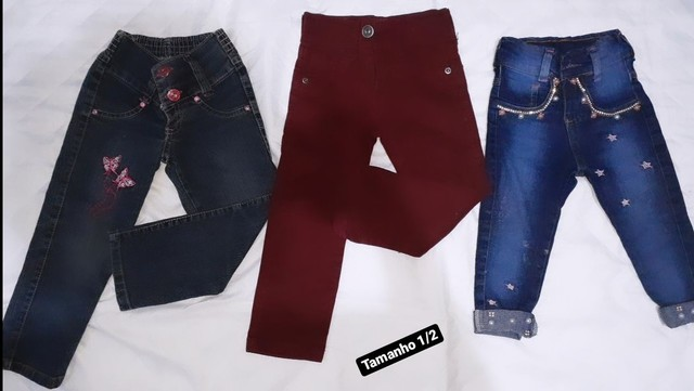 Lote roupa infantil feminina  - Foto 2