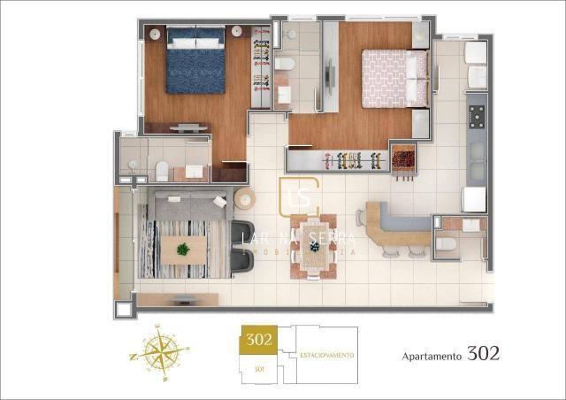 Apartamento à venda, 107 m² por R$ 728.260,47 - Lagos Do Bosque - Gramado/RS - Foto 18