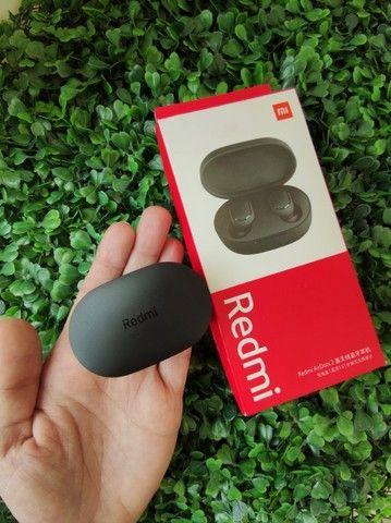 Fone de ouvido In-ear gamer sem fio Xiaomi Redmi AirDots