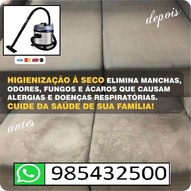 Lavagem para sofá a seco (informações pelo whatsapp)<br> - Foto 5